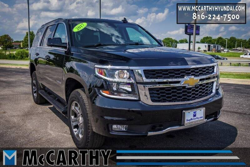 2017 Chevrolet Tahoe for sale at Mr. KC Cars - McCarthy Hyundai in Blue Springs MO