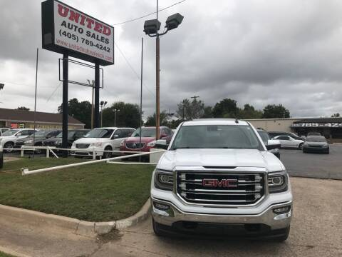2018 GMC Sierra 1500 for sale at United Auto Sales in Oklahoma City OK