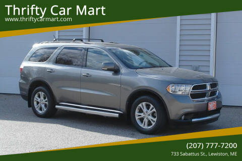 2012 Dodge Durango for sale at Thrifty Car Mart in Lewiston ME