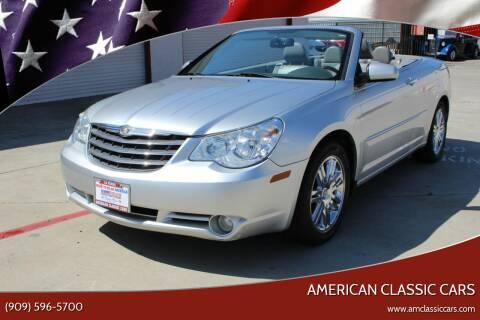 2008 Chrysler Sebring for sale at American Classic Cars in La Verne CA