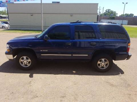 2001 Chevrolet Tahoe for sale at Frontline Auto Sales in Martin TN