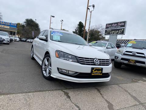 2015 Volkswagen Passat for sale at Save Auto Sales in Sacramento CA