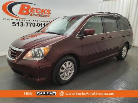 2008 Honda Odyssey for sale at Becks Auto Group in Mason OH
