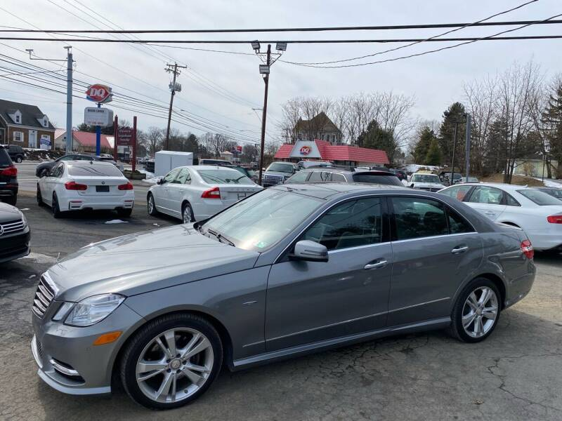 2012 Mercedes-Benz E-Class for sale at Masic Motors, Inc. in Harrisburg PA