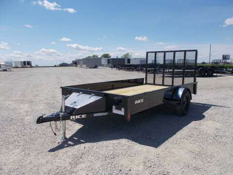 2021 Rice Trailers Stealth