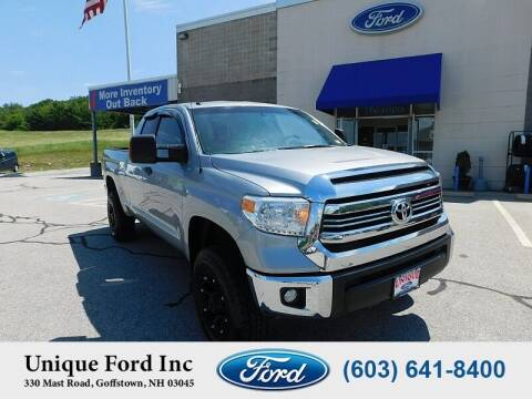 2017 Toyota Tundra for sale at Unique Motors of Chicopee - Unique Ford in Goffstown NH