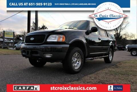 2000 Ford Expedition for sale at St. Croix Classics in Lakeland MN