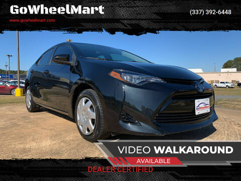 2019 Toyota Corolla for sale at GOWHEELMART in Available In LA