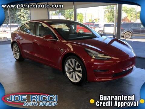2020 Tesla Model 3 for sale at JOE RICCI AUTOMOTIVE in Clinton Township MI