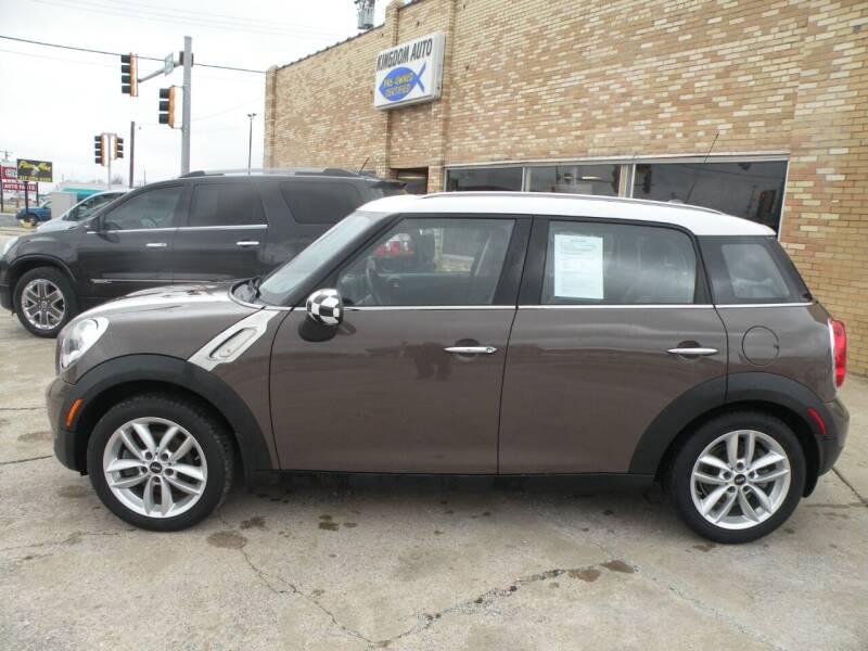 2012 MINI Cooper Countryman for sale at Kingdom Auto Centers in Litchfield IL