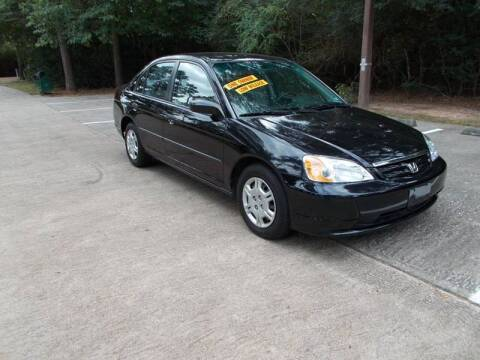2001 Honda Civic for sale at MOTION TREND AUTO SALES in Tomball TX