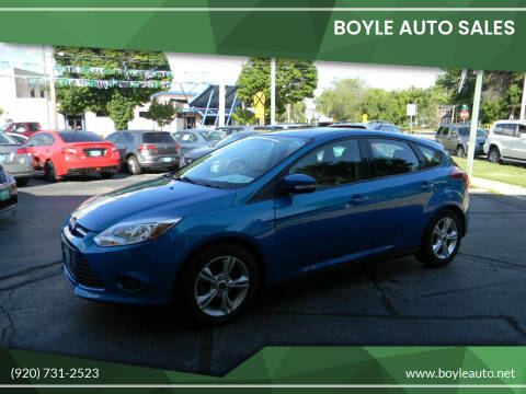 2014 Ford Focus for sale at Boyle Auto Sales in Appleton WI