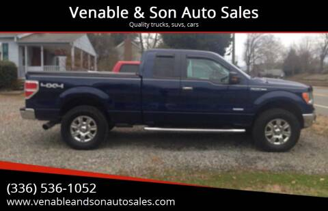 2011 Ford F-150 for sale at Venable & Son Auto Sales in Walnut Cove NC