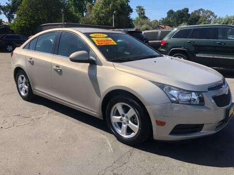 2011 Chevrolet Cruze for sale at Devine Auto Sales in Modesto CA