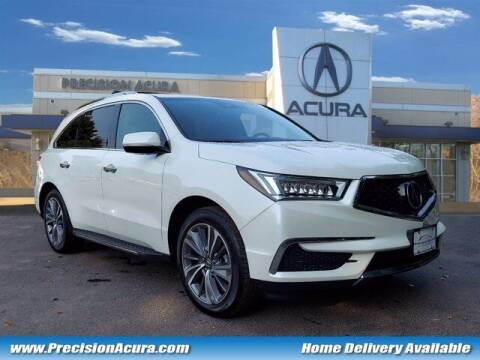 2018 Acura MDX for sale at Precision Acura of Princeton in Lawrence Township NJ