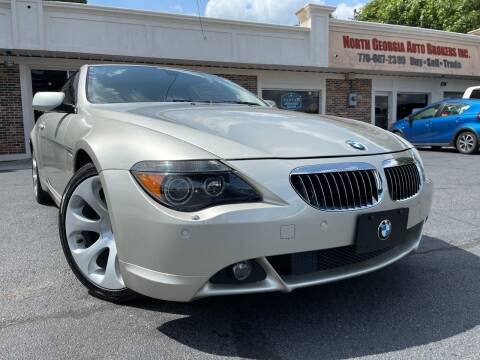 2006 BMW 6 Series for sale at North Georgia Auto Brokers in Snellville GA