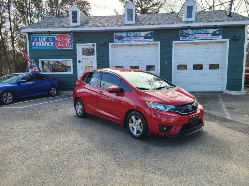 2015 Honda Fit for sale at Bridge Auto Group Corp in Salem MA