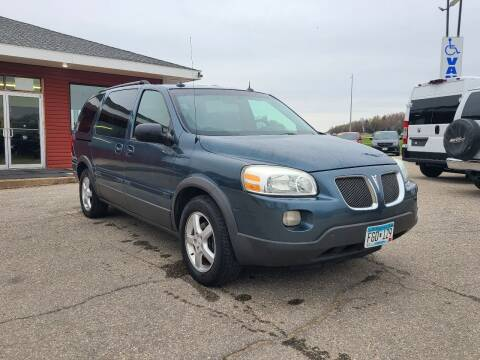 2005 Pontiac Montana SV6 for sale at Summit Auto & Cycle in Zumbrota MN