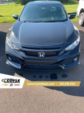 2018 Honda Civic for sale at COYLE GM - COYLE NISSAN - New Inventory in Clarksville IN