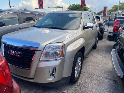 2013 GMC Terrain for sale at America Auto Wholesale Inc in Miami FL