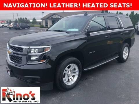 2018 Chevrolet Tahoe for sale at Rino's Auto Sales in Celina OH