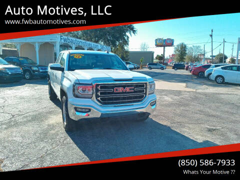 2018 GMC Sierra 1500 for sale at Auto Motives, LLC in Fort Walton Beach FL