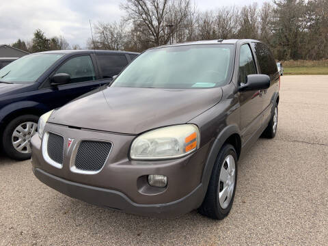 2008 Pontiac Montana for sale at Blake Hollenbeck Auto Sales in Greenville MI