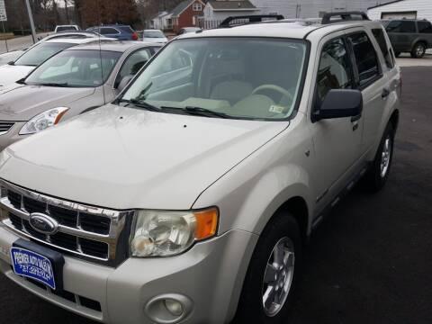 2008 Ford Escape for sale at Premier Auto Sales Inc. in Newport News VA