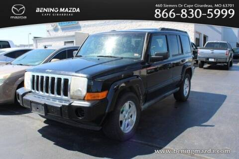 2007 Jeep Commander for sale at Bening Mazda in Cape Girardeau MO