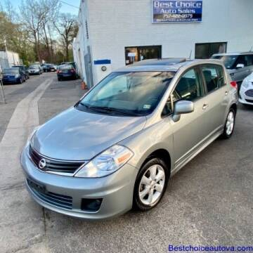 2011 Nissan Versa for sale at Best Choice Auto Sales in Virginia Beach VA
