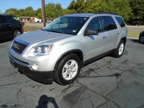 2010 GMC Acadia for sale at PIEDMONT CUSTOM CONVERSIONS USED CARS in Danville VA