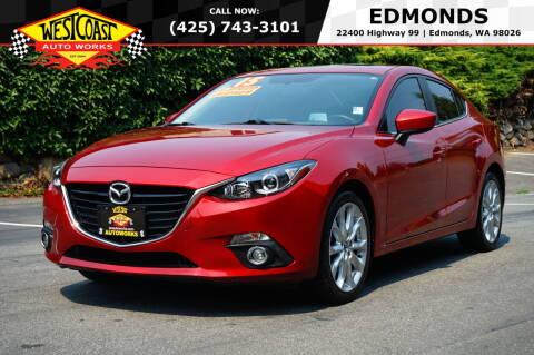 2015 Mazda MAZDA3 for sale at West Coast Auto Works in Edmonds WA