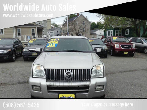 2007 Mercury Mountaineer for sale at Worldwide Auto Sales in Fall River MA