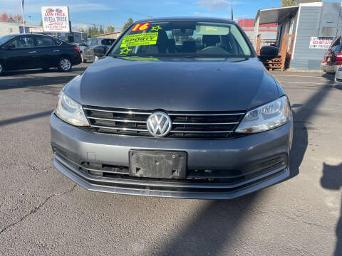 2016 Volkswagen Jetta for sale at Low Price Auto and Truck Sales, LLC in Salem OR