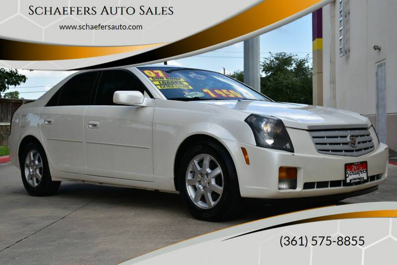 2007 Cadillac CTS for sale at Schaefers Auto Sales in Victoria TX