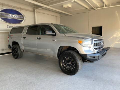 2014 Toyota Tundra for sale at TANQUE VERDE MOTORS in Tucson AZ