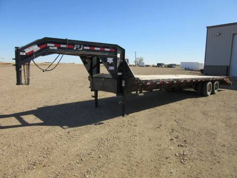 "2013 PJ 102"" x 32' for sale at Nore's Auto & Trailer Sales - Used Trailers in Kenmare ND"