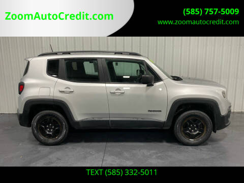 2017 Jeep Renegade for sale at ZoomAutoCredit.com in Elba NY