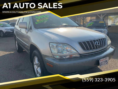 2002 Lexus RX 300 for sale at A1 AUTO SALES in Clovis CA