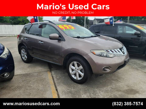 2009 Nissan Murano for sale at Mario's Used Cars - South Houston Location in South Houston TX