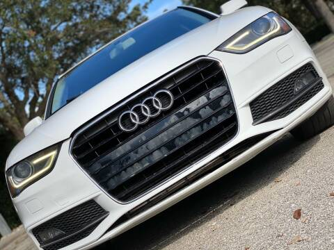 2015 Audi A4 for sale at HIGH PERFORMANCE MOTORS in Hollywood FL