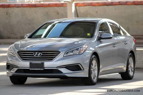 2016 Hyundai Sonata for sale at Euro Auto Sales in Santa Clara CA