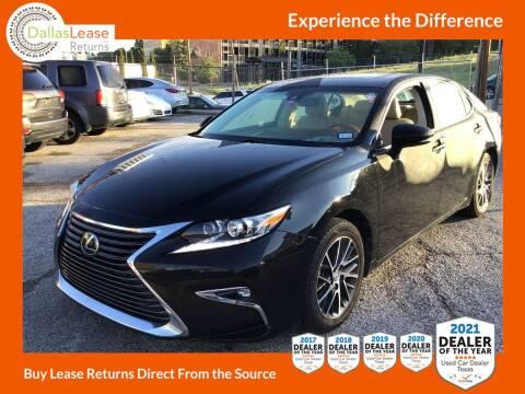 2016 Lexus ES 350 for sale at Dallas Auto Finance in Dallas TX