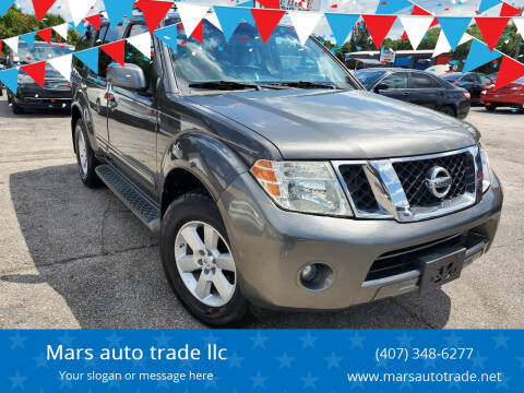 2008 Nissan Pathfinder for sale at Mars auto trade llc in Kissimmee FL