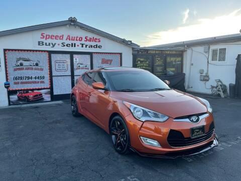 2013 Hyundai Veloster for sale at Speed Auto Sales in El Cajon CA