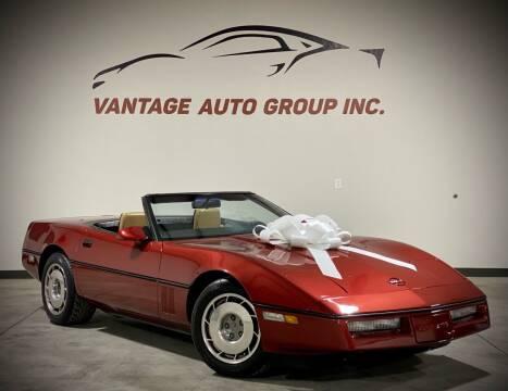 1987 Chevrolet Corvette for sale at Vantage Auto Group Inc in Fresno CA