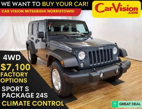 2017 Jeep Wrangler Unlimited for sale at Car Vision Mitsubishi Norristown in Trooper PA
