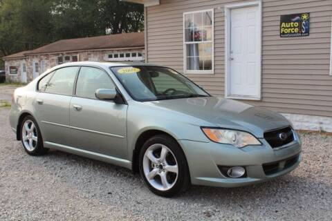 2009 Subaru Legacy for sale at Auto Force USA in Elkhart IN