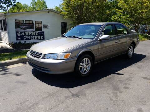 2001 Toyota Camry for sale at TR MOTORS in Gastonia NC
