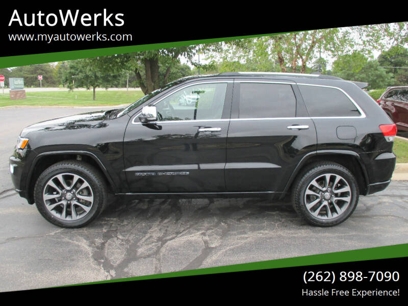 2017 Jeep Grand Cherokee for sale at AutoWerks in Sturtevant WI
